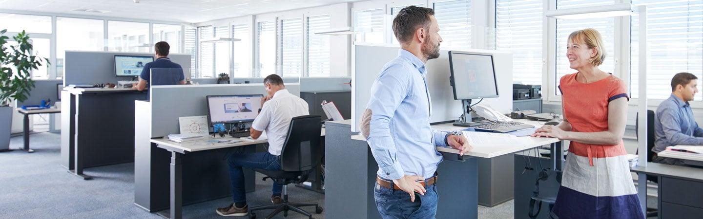 Un environnement de travail moderne et amical | Baumer