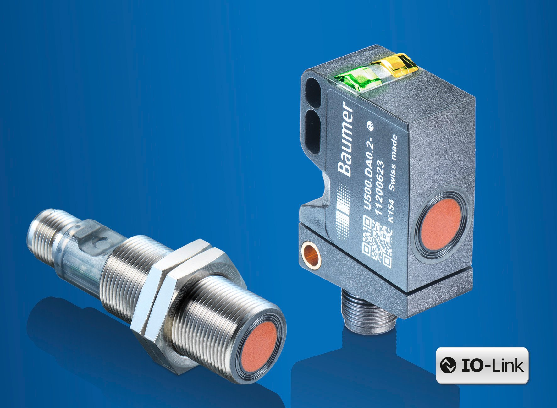 New ultrasonic sensors from Baumer outperform with robust housings