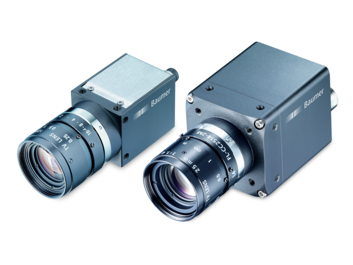 Fast and reliable cameras with cutting-edge CMOS sensors