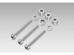 Mounting kit 3x M4 x 50 DIN912, A 4.3 DIN125, spacers