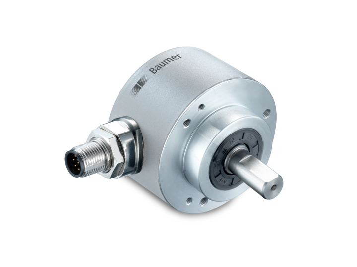 58 mm – integrated interface, robust magnetic – 58 mm – clamping flange