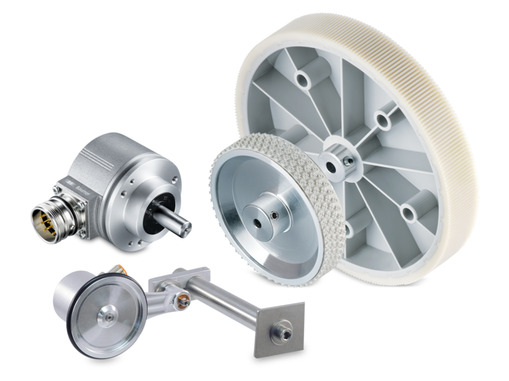 Measuring wheel encoders