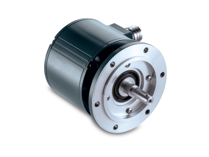 Design 115 mm – solid shaft with EURO flange B10 – Programmable, integrated speed switch