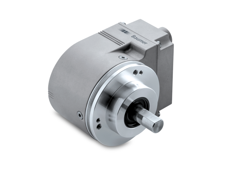 58 mm – clamping flange – Compact Ethernet absolute encoders EAL580