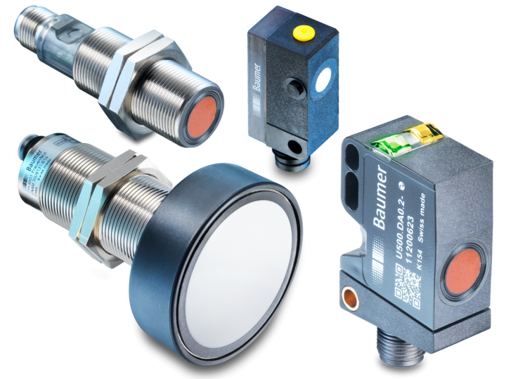 Ultrasonic distance sensors
