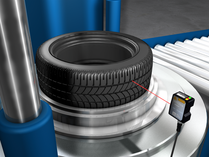 Inspection of tires during production