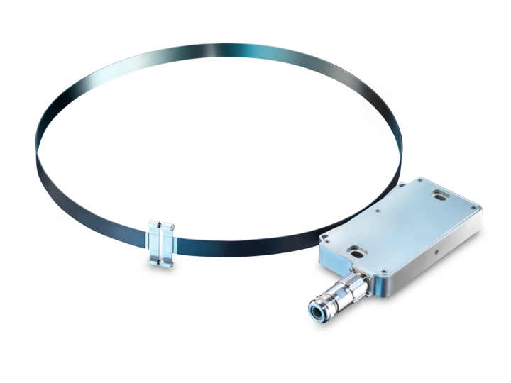 High-resolution magnetic belt encoder for large shaft diameters – Flexible magnetic belt mounting – for shafts up to 3183 mm  – Incremental – for shafts up to 3183 mm – Quasi-absolute – for large shafts up to 3183 mm – Flexible magnetic belt mounting – for shafts up to 3183 mm