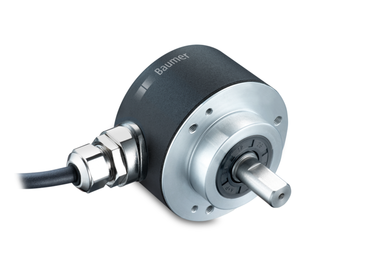 R-series – for extreme environments – 58 mm – clamping flange – Precise magnetic absolute rotary encoders MAGRES EAM580 / EAM360