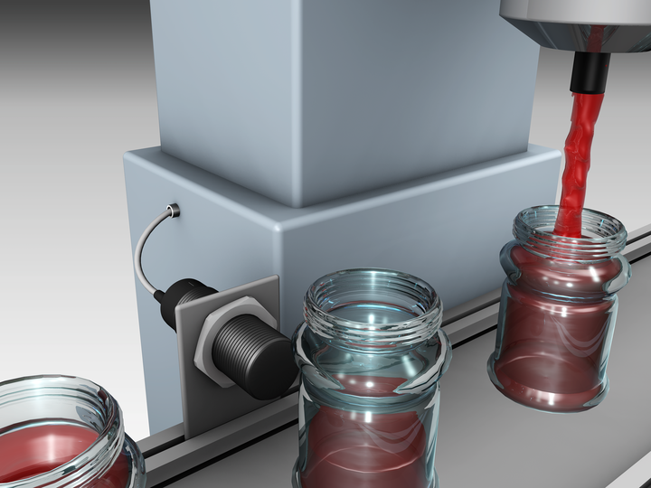 Level monitoring in bottling plants