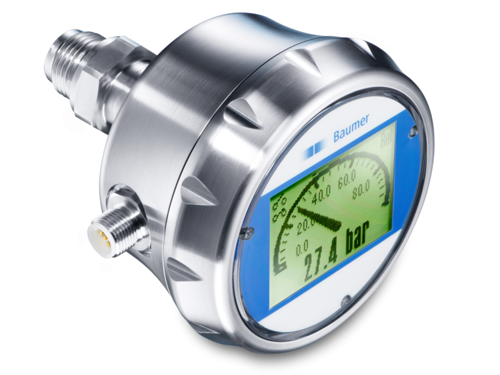 CombiPress – Pressure and continuous level measurement – PFMN – Hydrostatic level sensor with flush membrane and touch screen – Pressure sensor with flush membrane and touch screen