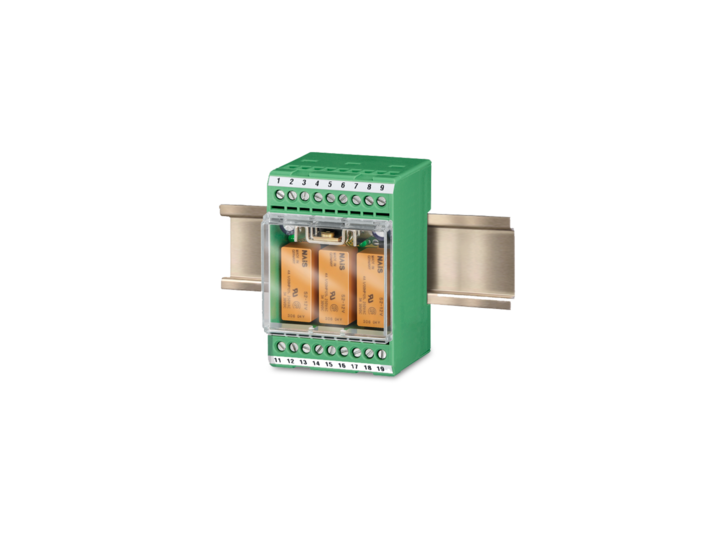 Relay modules for speed switches