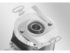 Mounting hollow shaft encoders – Spring coupling for encoders with ø58 mm housing (Z 119.023)
