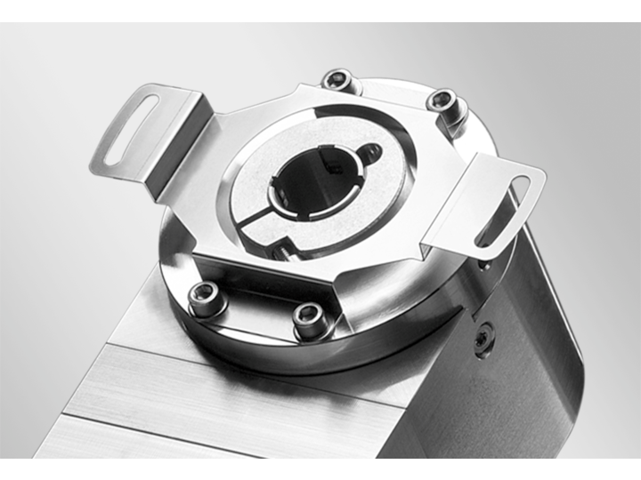 Mounting hollow shaft encoders – Spring coupling for encoders with ø58 mm housing, hole distance 68 mm (Z 119.073) – Spring coupling for encoders with ø58 mm housing, hole distance 73 mm (Z 119.072)
