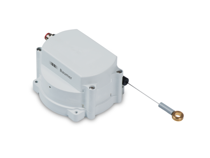 Compact designs – maximum robustness – 104 mm compact – measuring length up to 4.7 m – Linear displacement measurement made easy - robust cable transducers GCA5