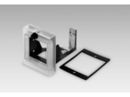 Front frames – Front frame with knob lock provided on transparent cover (Z 102.01A)
