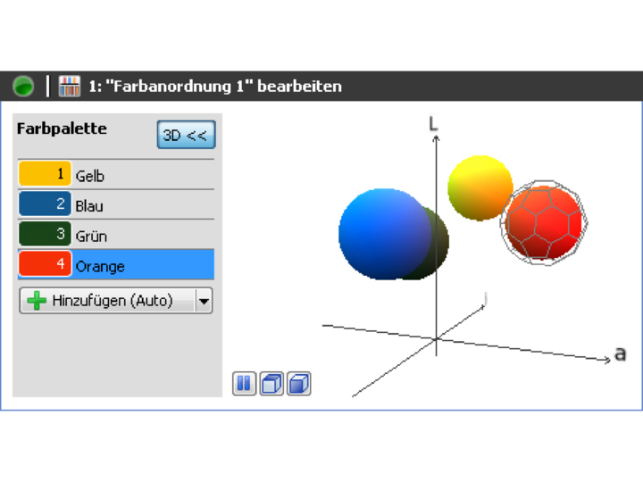 ColorFEX 3D color assistant