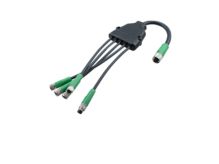 Illumination / Illumination accessories – Multi headed cable Type B4 – Multi headed cable Type C4