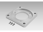 Adaptor plate for clamping flange for modification into square flange (Z 119.001)